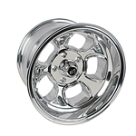 Team III Wheels ET Five Window Wheel-Pol-15x10-5 on 4.75-4 In Backspce