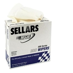 Garage Sale - Sellars White Pop-Up Shop Rags, 100 Count
