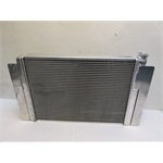 Garage Sale - AFCO 80103FNP Mopar B/C-Body Performance Aluminum Radiator - 17-1/2 X 25-3/4