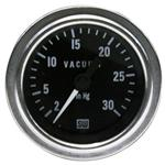 Stewart Warner 82328 Deluxe Vacuum Gauge, Mechanical, 2-1/16 Inch