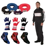 Speedway Two Piece Racing Suit Combo