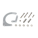 Small Block Chevy Low Mount Alternator Bracket, Chrome