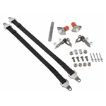 Hidden Tail Gate Latch w/ 21 Inch Straps