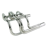 Small Block Chevy Classic T-Bucket Headers, Chrome
