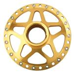 Winters Performance 3784 Forged Aluminum Splined Rear Hub, Gold