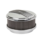 OTB Gear 4470 Mohawk Style Air Cleaner, Straight Base, Polished