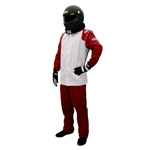 Speedway Single Layer SFI 1 Two-Piece Suit Safety Combo