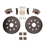Wilwood 140-13502 Dynapro Single Right Rear Brake Kit, 10.2 Inch Alum. Rotor