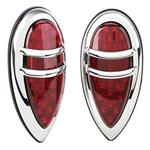 1938-1939 Lincoln Zephyr LED Tail Lights