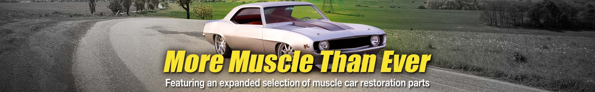 Check Out Speedway's Expanded Muscle Car Selection
