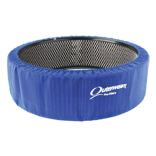 Outerwears 10 1141 02 Blue 14 x 3 Air Cleaner Pre Filter Cover | eBay