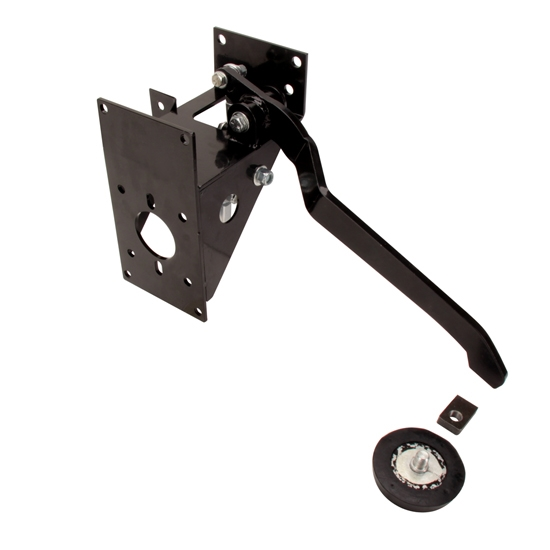 Right Angle Booster : Speedway universal under dash degree pedal assembly