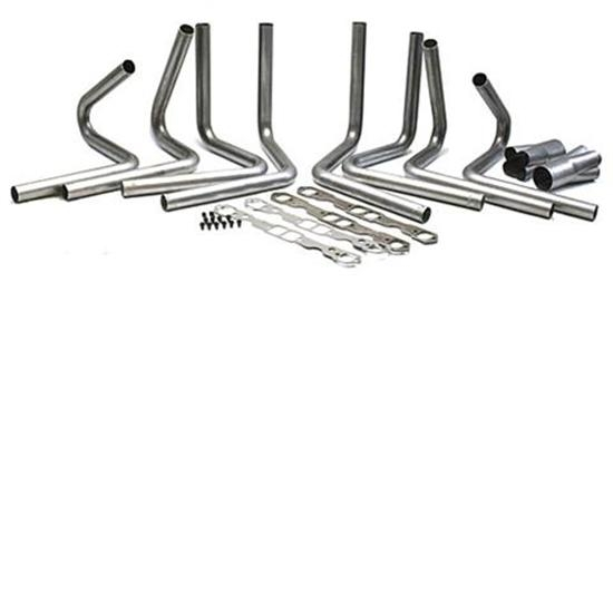 Small Block Chevy Header Kit 1 7 8 Brodix Spread Port 3 1