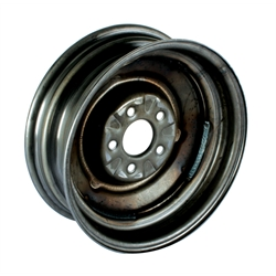 O E Style Hot Rod Steel 15 Inch Wheel Raw Finish 15 X 5