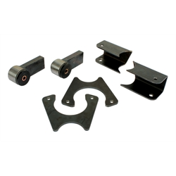 1978-88 GM Metric Chassis 9 Inch Ford Axle Bracket Kit
