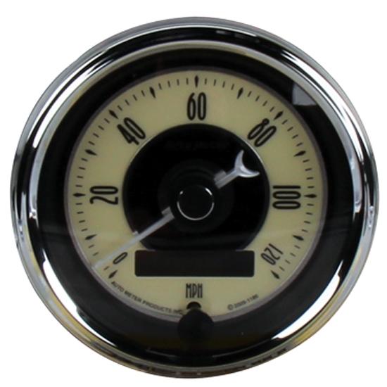 auto meter 1100 cruiser ad 5 piece gauge kit ebay. Black Bedroom Furniture Sets. Home Design Ideas