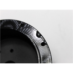 Garage Sale - GM Aluminum Carbon Fiber Steering Wheel Adapter, 9 Bolt