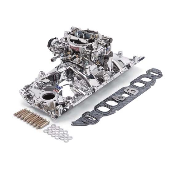 Edelbrock 20624 Performer RPM Intake Manifold Carburetor