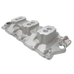 Chevys Lincoln Ne >> Edelbrock 5418 Small Block Chevy 3x2 3-Bolt Carb Intake ...