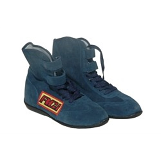 RCI High Top Driving Shoes, Blue, 8.0