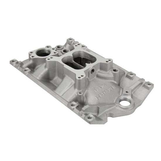 V6 Intake Manifold : Edelbrock performer chevy vortec v aluminum
