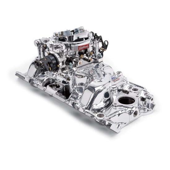 Edelbrock 20614 Performer RPM Intake Manifold Carburetor
