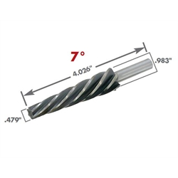 AFCO 80770 Tapered Ball Joint & Tie Rod End Reamer, 7 ...