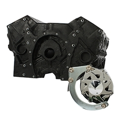 Small Block Chevy Low Mount Alternator Bracket Chrome Ebay