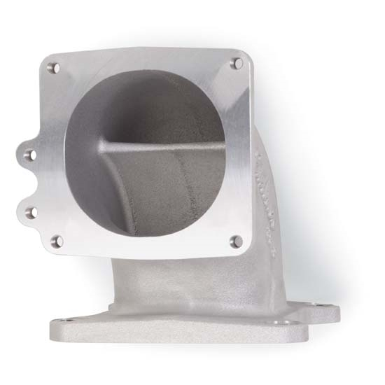 Ls1 Intake Bolt Pattern: Edelbrock 3814 Throttle Body Air Intake Elbow, Aluminum
