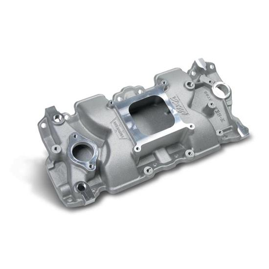 Weiand 7547 1 IMCA Approved Small Block Chevy Manifold