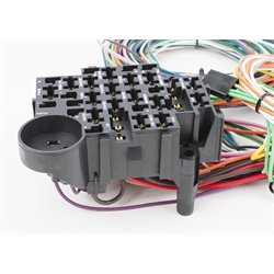 new speedway 20 circuit gm chevy wiring harness compact. Black Bedroom Furniture Sets. Home Design Ideas