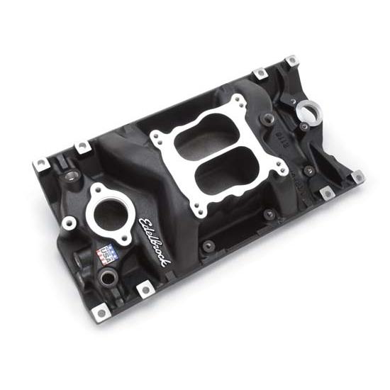 Edelbrock 21163 Performer Vortec Intake Manifold Black