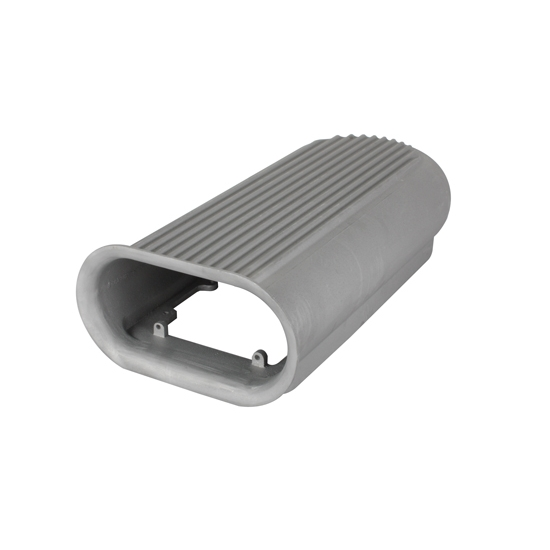 Tunnel Ram Scoop Air Cleaner : Polished gasser style competition air scoop blown tunnel