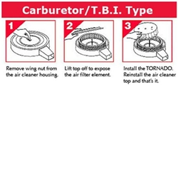 Fuel Saver for Carbureted/TBI Engines, 7-1/4 O.D., 3-3/4 Inch Tall