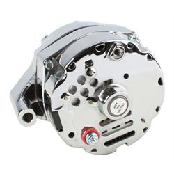 Tuff Stuff Silver Bullet Ford One Wire Alternator, 140 AMP Rating
