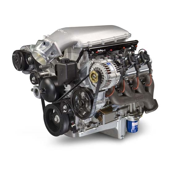 Ls6 Engine Horsepower: Holley 300 126 Holley Mid Rise Intake For GM LS1 LS2 LS6