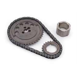 Edelbrock 7343 Hex-A-Just By Cloyes Adjustable True-Roller Timing Set