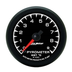 Auto Meter 5944-M ES Digital Stepper Motor Pyrometer Gauge, 2-1/16 In.