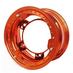 Aero 53-920540ORG 53 Series 15x12 Wheel, BL, 5 on WIDE 5, 4 Inch BS