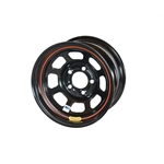 Bassett 58DC2IRB 15X8 DHole 5on4.75 2 BS IMCA Black Reverse Bell Wheel