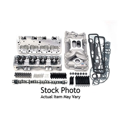 Edelbrock 20984 Power Package Top End Engine Kit, Chevy 350
