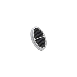 Lokar BAG-6109 Oval Billet Aluminum Dimmer Cover, Brushed