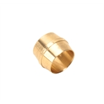 Air Suspension Brass Ferrule for Compression Fittings, 3/8 Inch