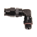 Fragola 6897061-BL Real Street 90 Deg. PTFE Hose End Fitting, -6 AN