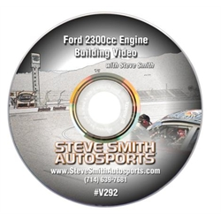Steve Smith Autosports V292 Video - Building the Ford 2300 Engine