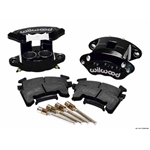 Wilwood 140-12099-BK D154 Front Brake Caliper Kit, Black Anodized