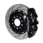 Wilwood 140-13698-D AERO4 14.25 Inch Rear Brake Kit, 2014-Up C7 Corvette