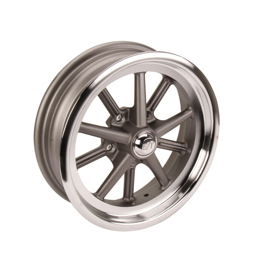 Team III Gasser ET 15 Inch Wheel-15x4.5, 5 on 4.5, 2 In. Backspace