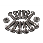 TI64 176 Titanium Button-Head Fuel Top Plate Bolt Kit