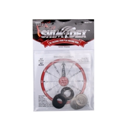 Shim-Dex Spark Plug Shims, 24 Pack